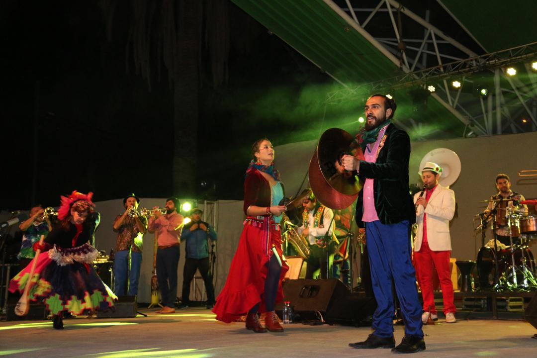 Photo of Banda Conmoción en Vicuña