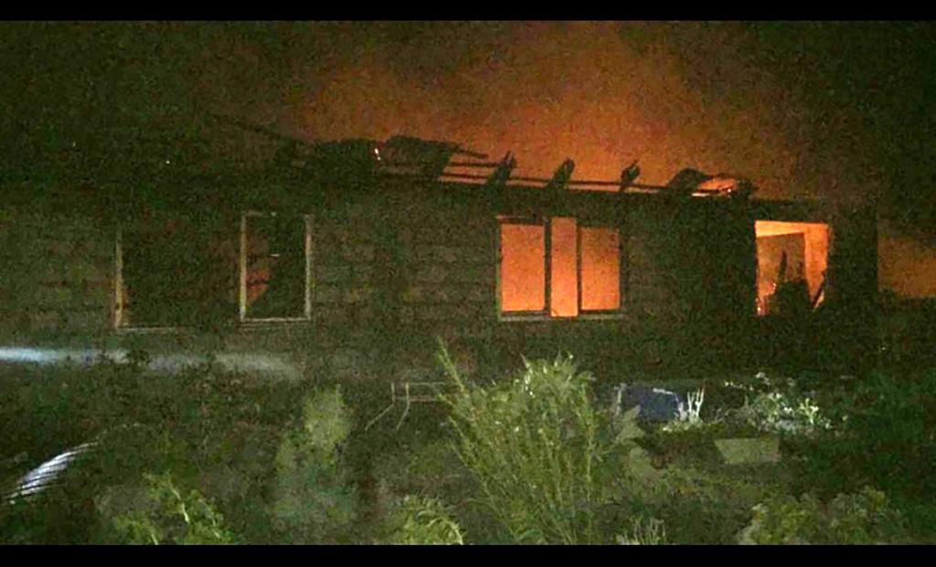 Photo of Incendio genera millonaria pérdida a familia de la presidenta de la JJVV de Diaguitas
