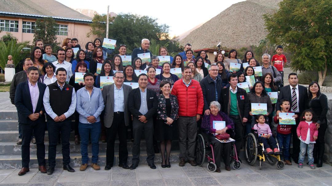 Photo of Un total de 36 familias de Paihuano contarán con la ansiada casa propia luego de 16 años de espera