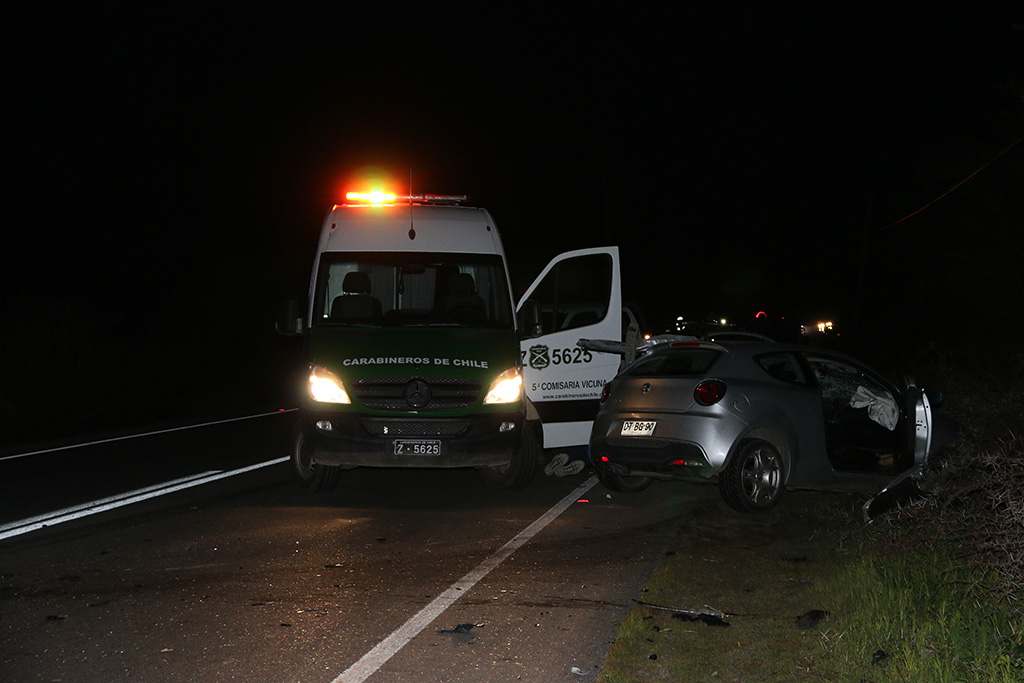 Photo of Conocida vecina vicuñense fallece en accidente vehicular en ruta 41