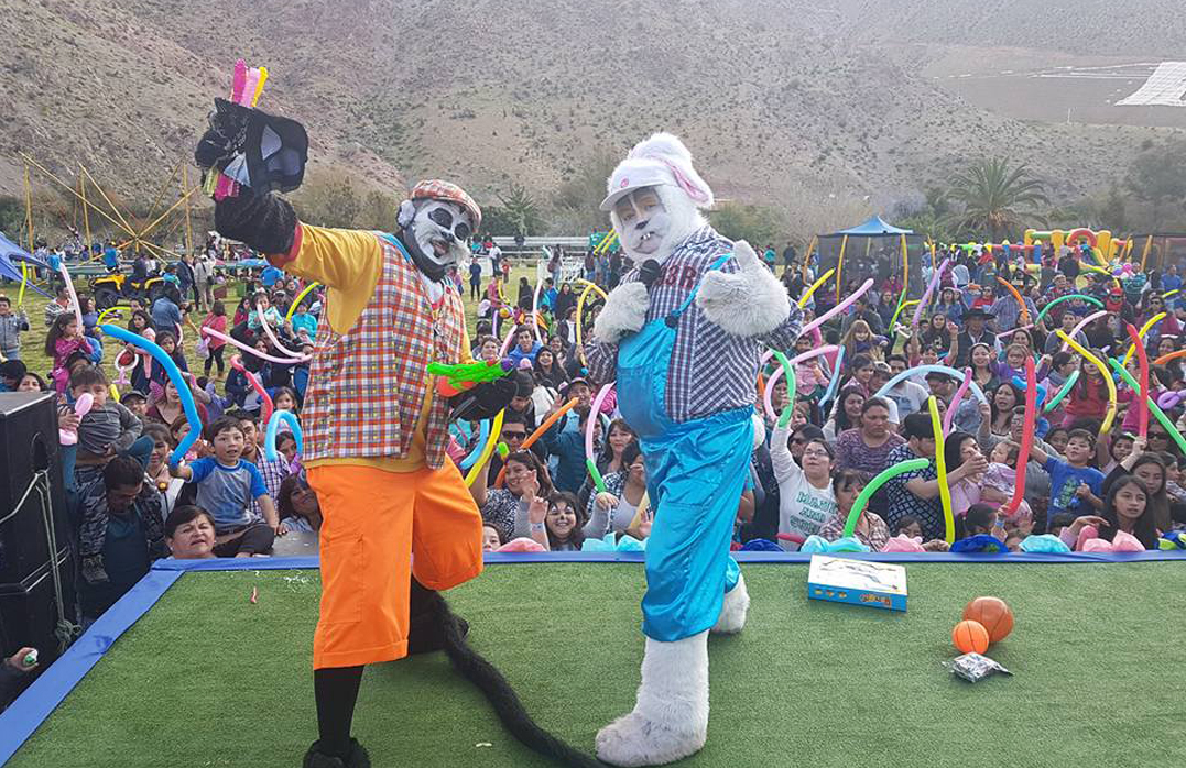 Photo of Paihuano celebró a los niños y niñas con parque de diversiones