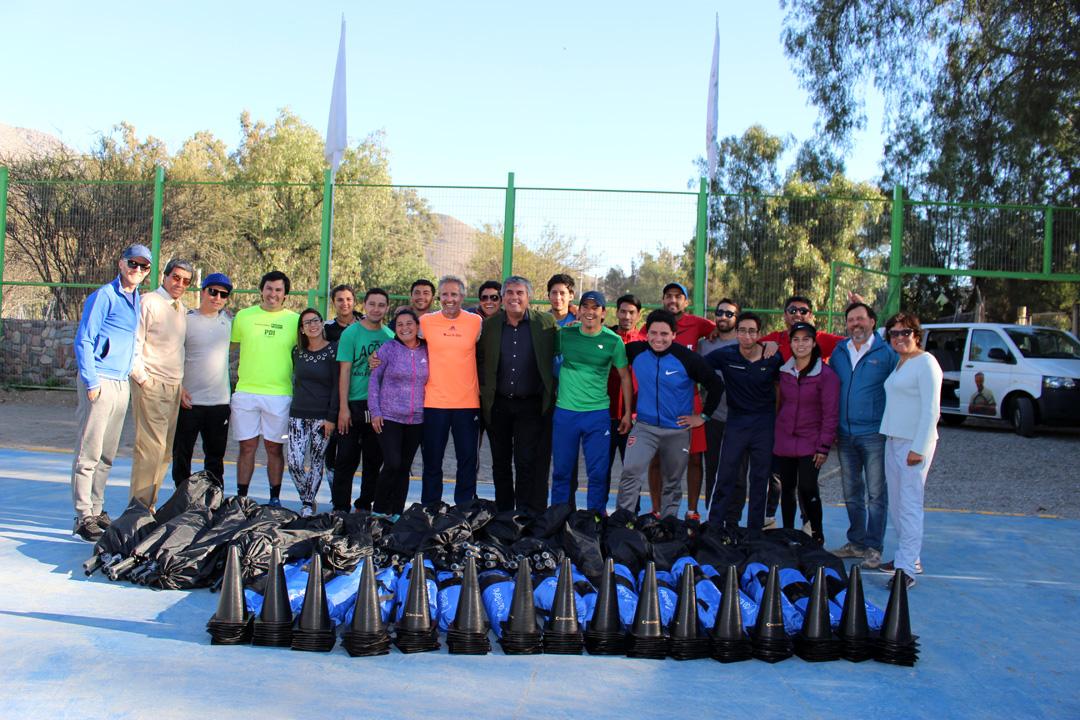 Photo of Horacio de la Peña impartió clínica deportiva a profesores de escuelas municipalizadas de Vicuña