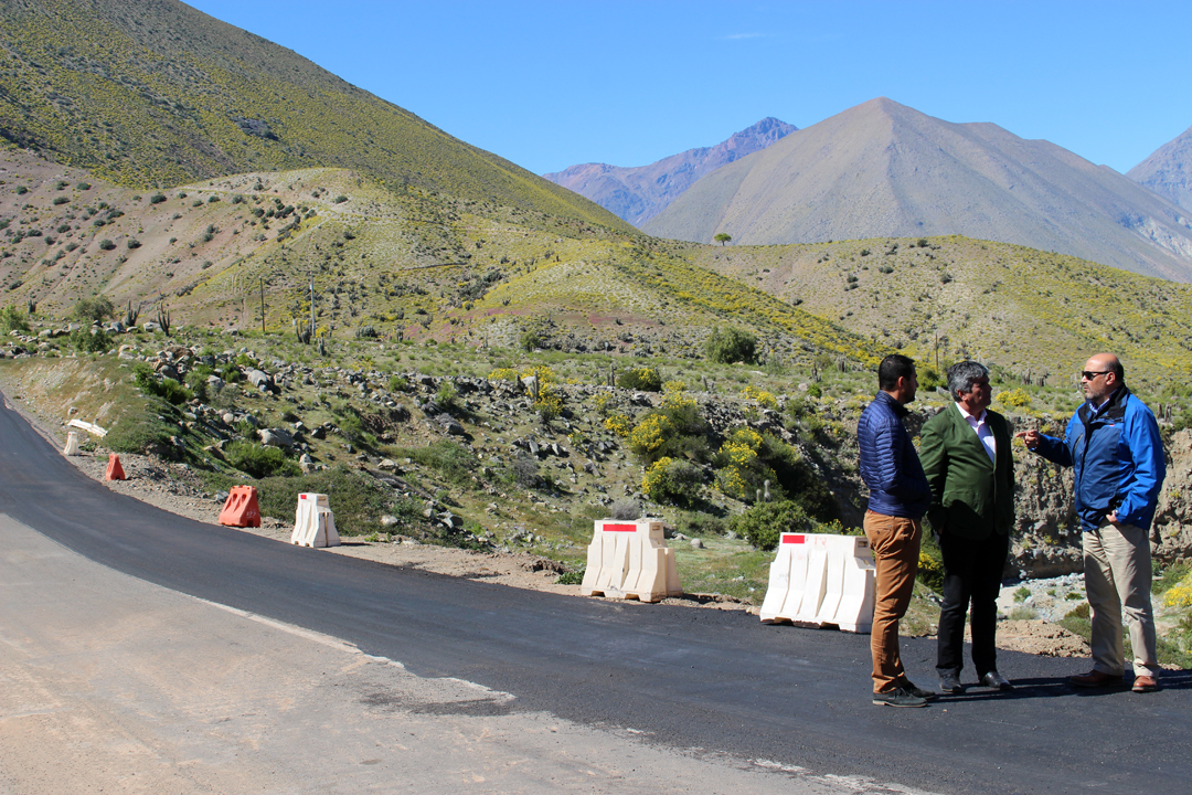 Photo of 7 kilómetros de pavimento son los que se esperan concretar en la comuna de Vicuña este 2017
