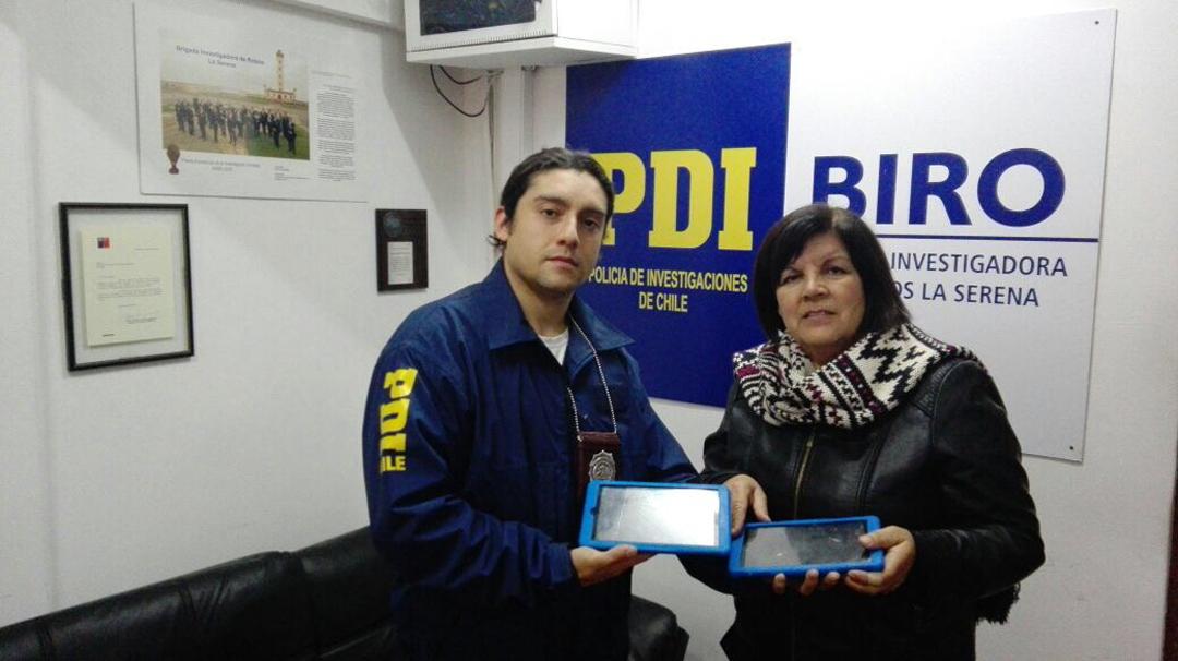 Photo of PDI recupera 2 tablets robadas a colegio de El Romero