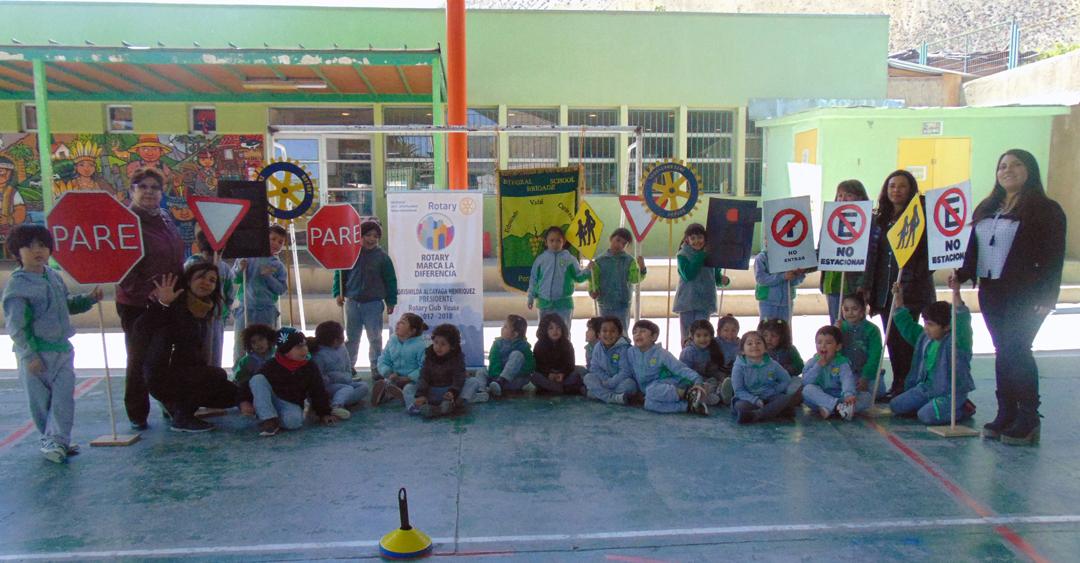 "Photo of Escuela Edmundo Vidal Cárdenas instaura programa de ""Educación Vial"""