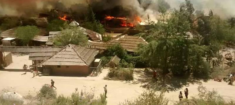 Photo of Incendio en el Pueblo de Artesanos de Horcón