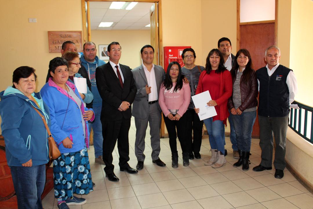 Photo of Organizaciones sociales de Paihuano reciben Fondo Presidente de la República 2017