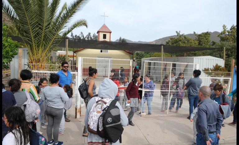 Photo of Comunidad de Escuela de Marquesa se informó de todas las gestiones de mejoramiento