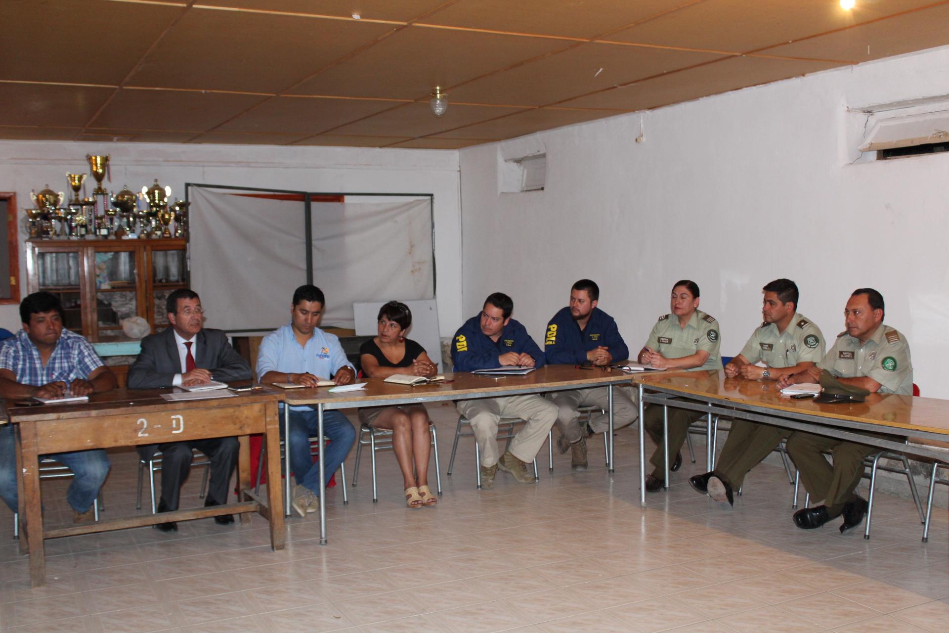 Photo of Vecinos y autoridades analizan temas de seguridad pública en Montegrande