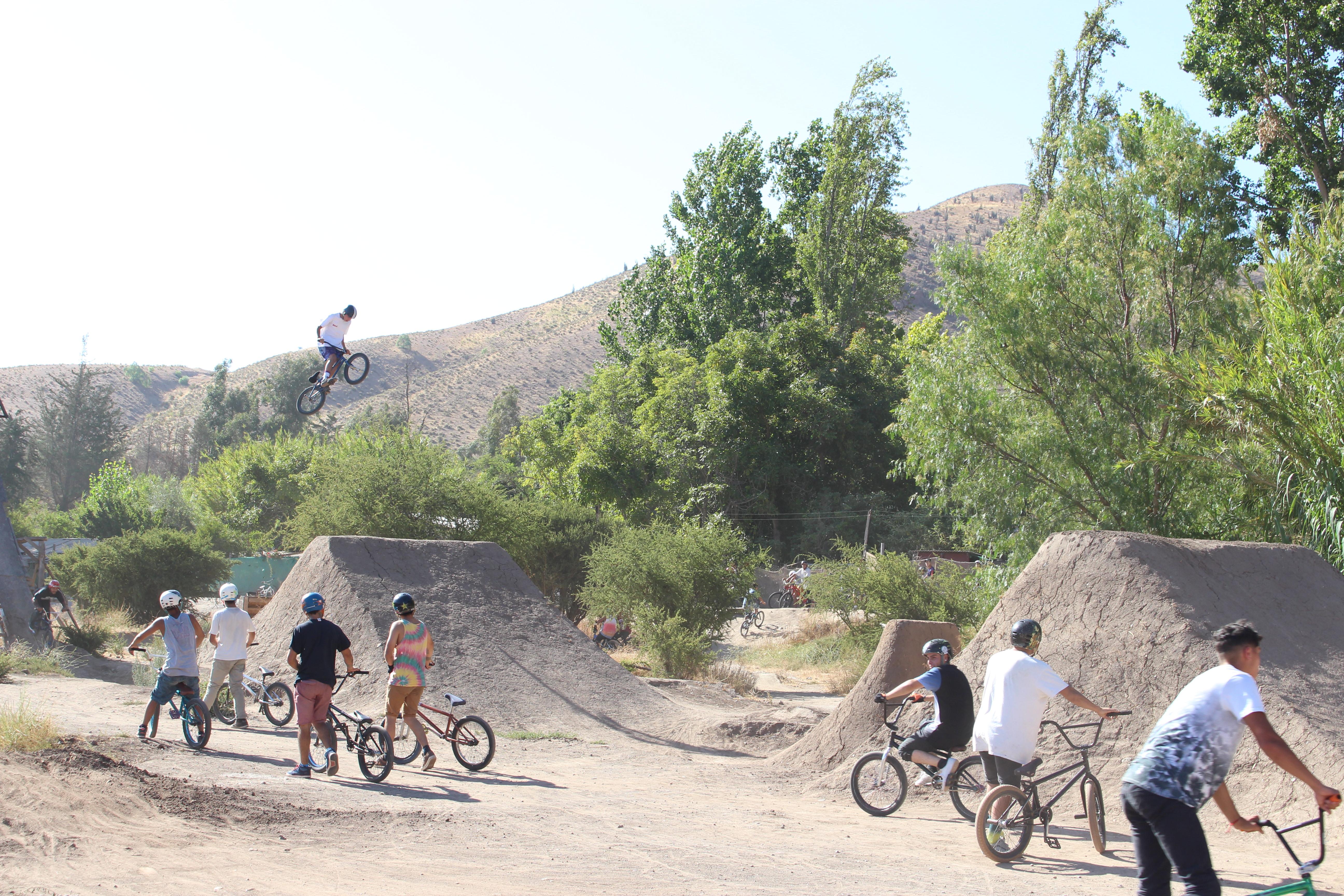 Photo of Competidores de todo el país fueron parte del primer encuentro de Dirt Jump y rap en Vicuña