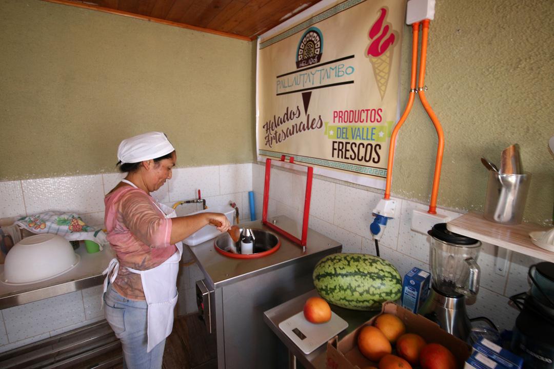 """Photo of """"Heladería Pallautaytambo"""" potencia su negocio familiar con el Reactívate Pyme de SERCOTEC"""