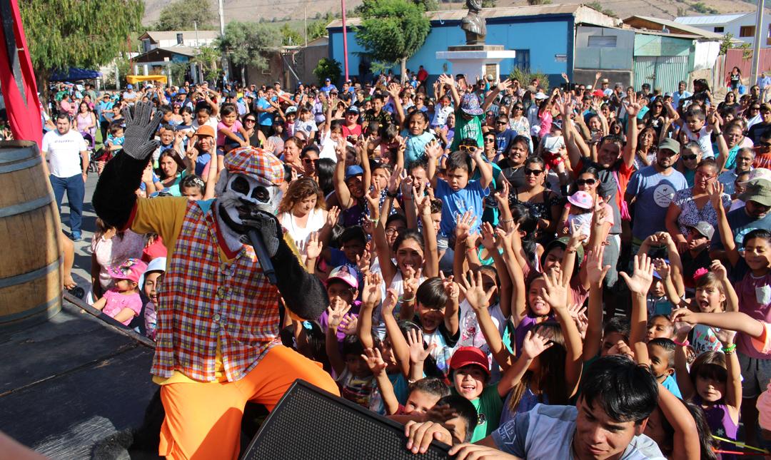 Photo of Hasta el Gato Juanito se hizo parte de la Fiesta de la Vendimia en la comuna de Vicuña