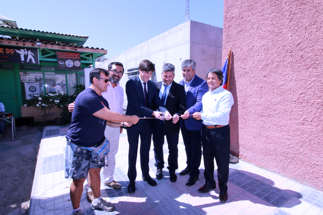 Photo of Con la presencia del ministro se inauguran nuevas instalaciones de la Casa del Deporte de Vicuña