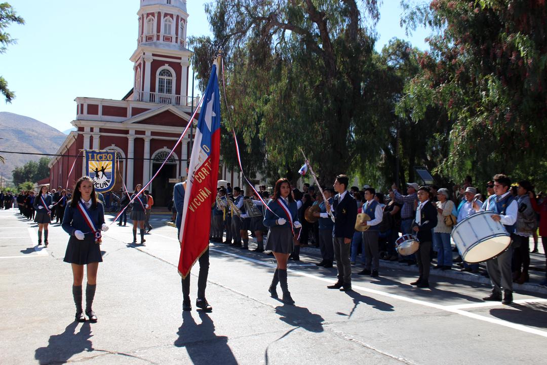 Photo of Con  la innovación metodológica del aprendizaje solidario liceo de Vicuña celebra 60 años de vida