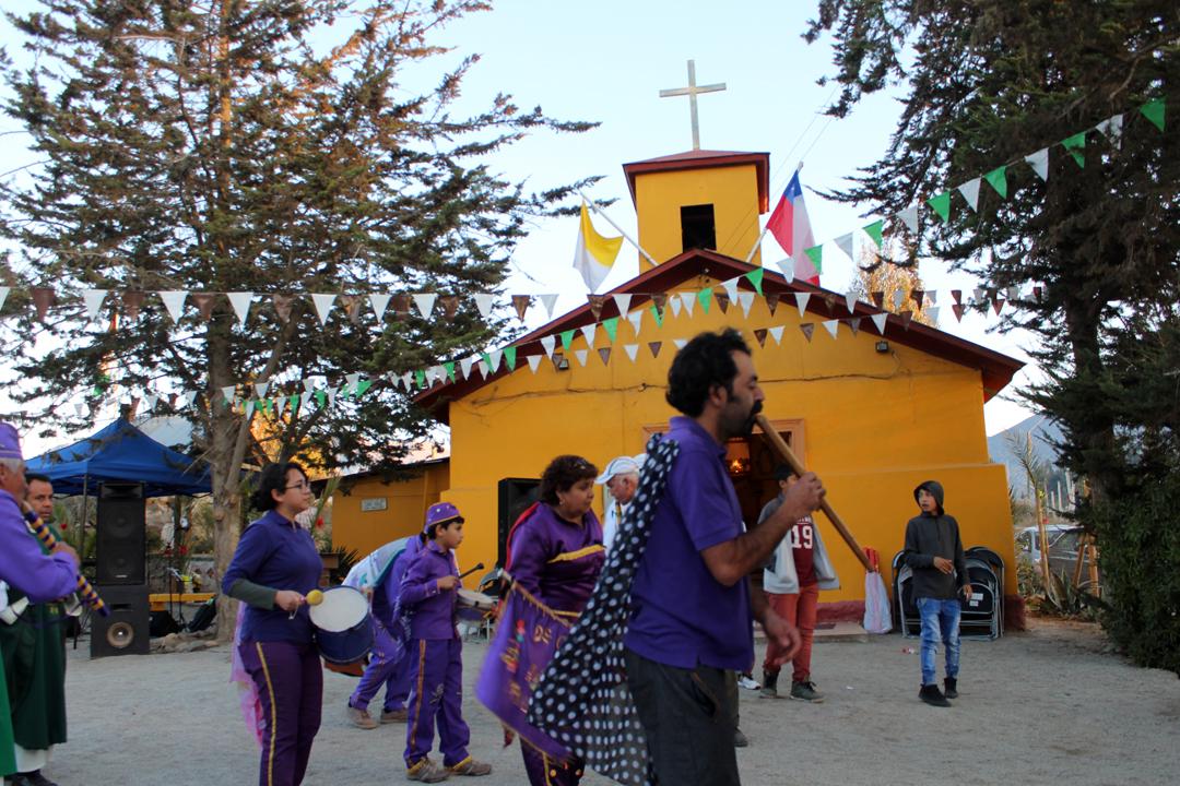 Photo of Comunidad de Quebrada de Talca celebró su fiesta patronal