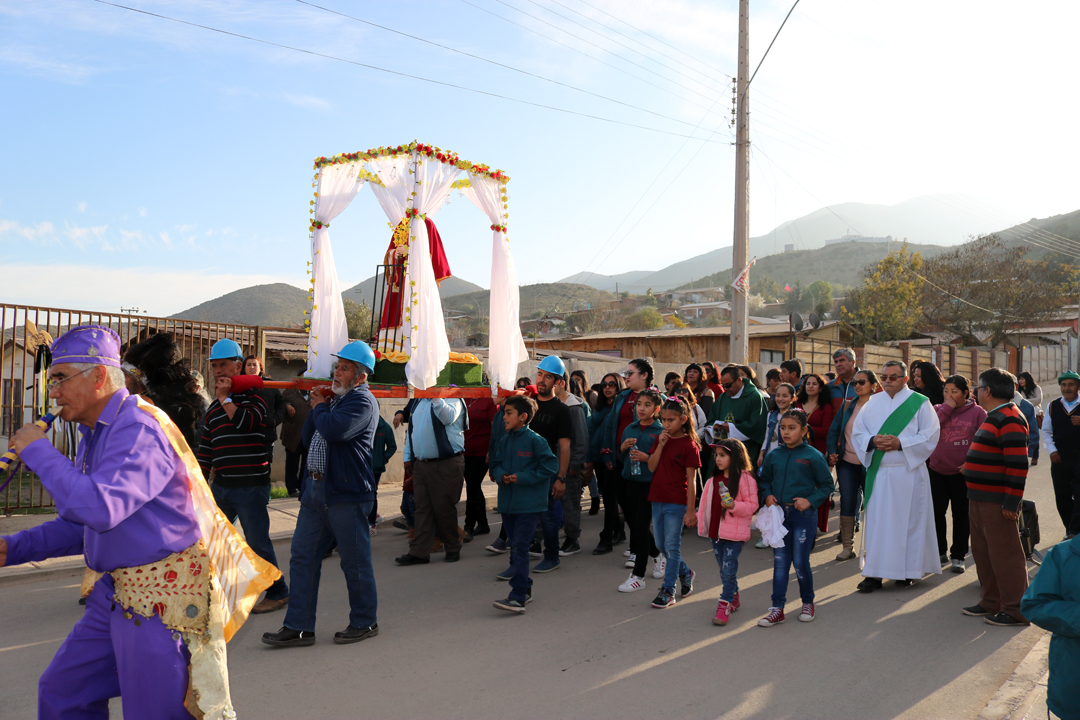 Photo of Fieles de toda la comuna de Vicuña llegaron a Talcuna para celebrar la Fiesta de San Lorenzo