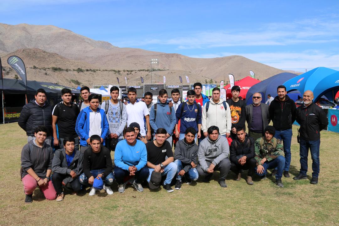 Photo of 23 jóvenes del Liceo Carlos Moncada Cortés fueron parte del staff mecánico del RallyMobil