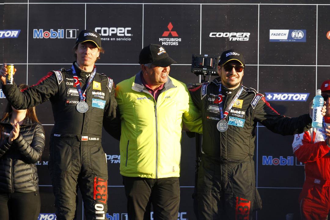Photo of Team Renault superó las complejidades de Vicuña y se ubica en el podio de la R3