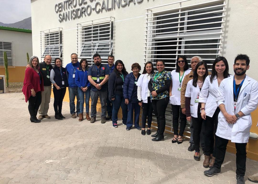 Photo of Dan autorización sanitaria a CESFAM  San Isidro Calingasta