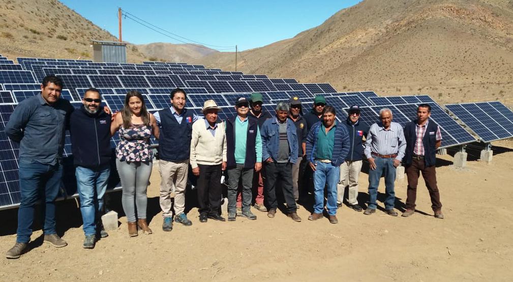 Photo of Sistema fotovoltaico permite a agricultores de Viñita Alta reducir hasta un 70% sus costos en el riego