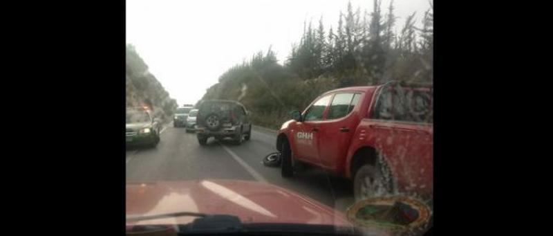 Photo of Motorista falleció en accidente en la Quebrada de Monardez