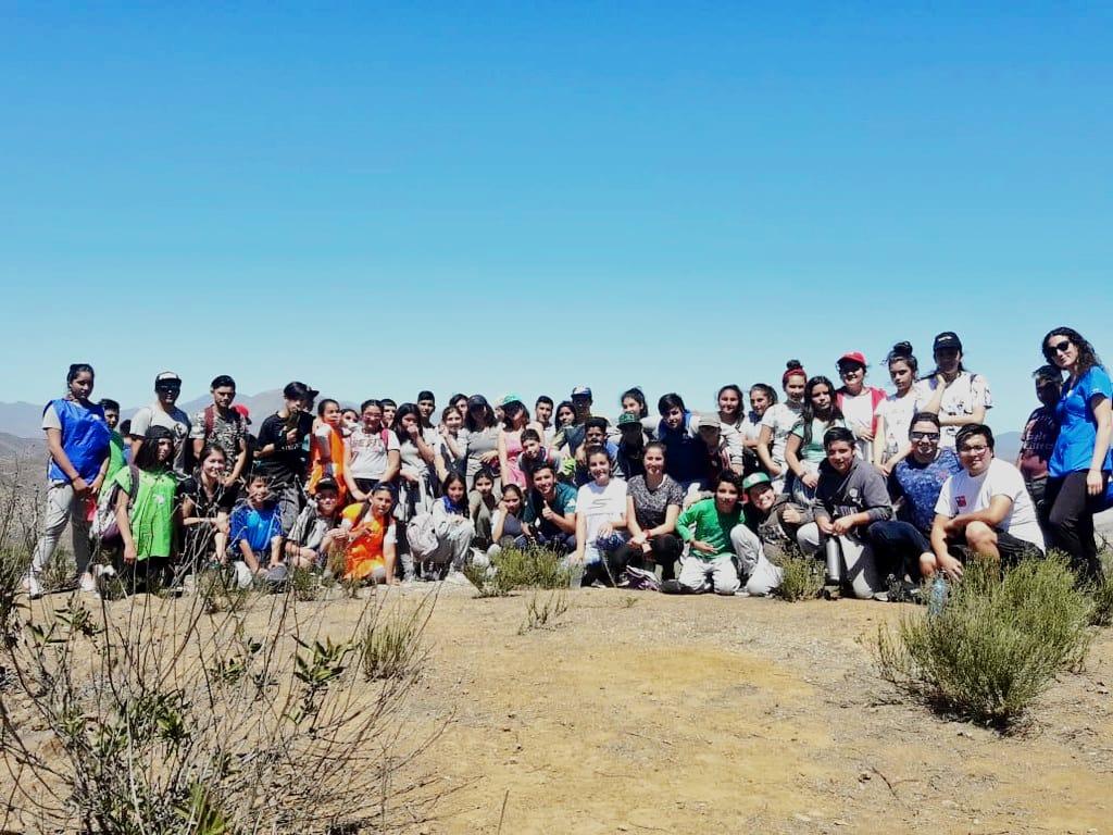 Photo of Estudiantes de Vicuña y La Serena se sumaron al 8vo trekking escolar por Marquesa