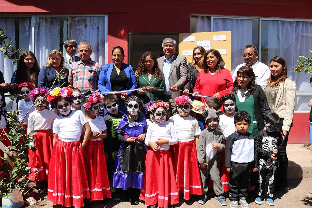 Photo of Inauguran en Talcuna sala de pre-kinder en escuela Juan Rendic