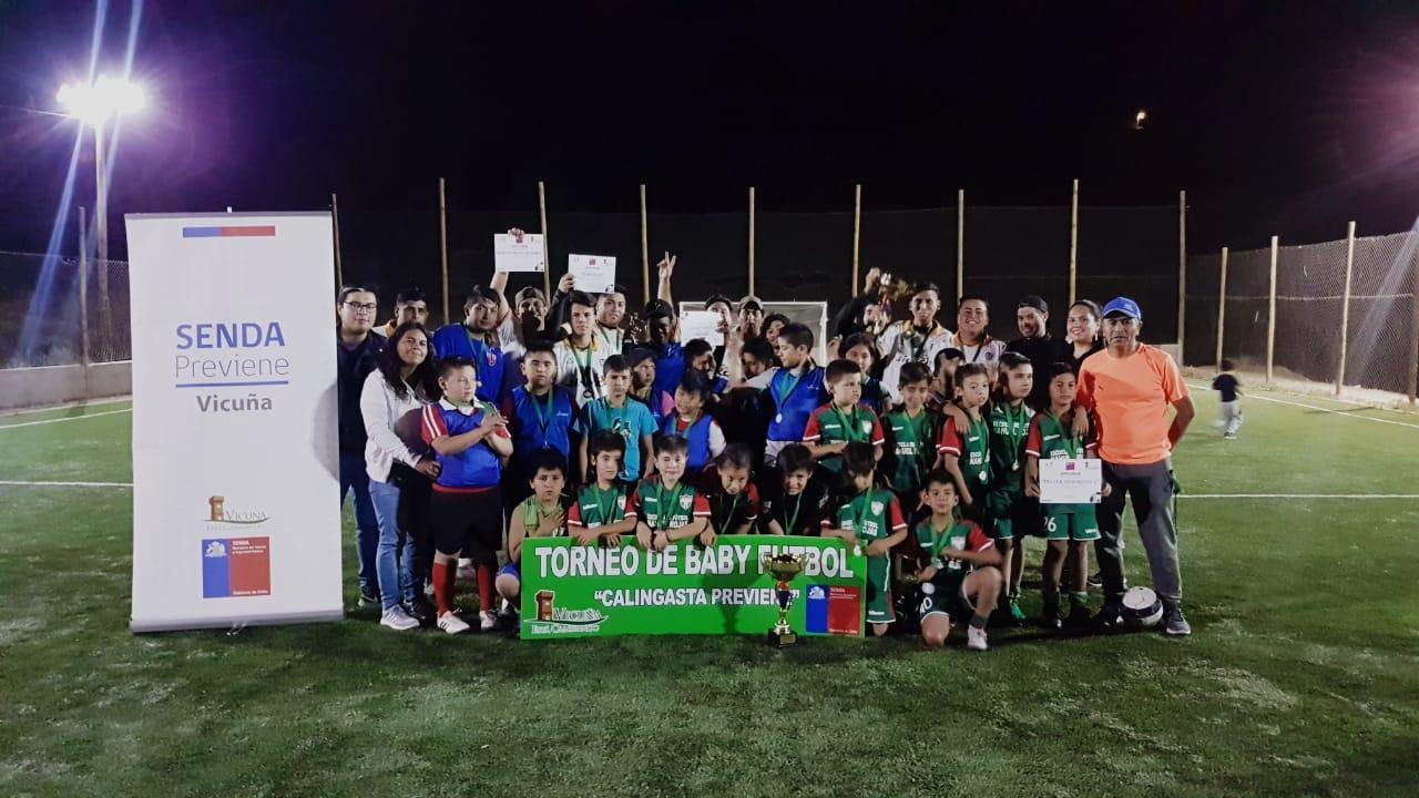 Photo of SENDA y Municipio dieron vida a un exitoso campeonato de baby futbol en Calingasta