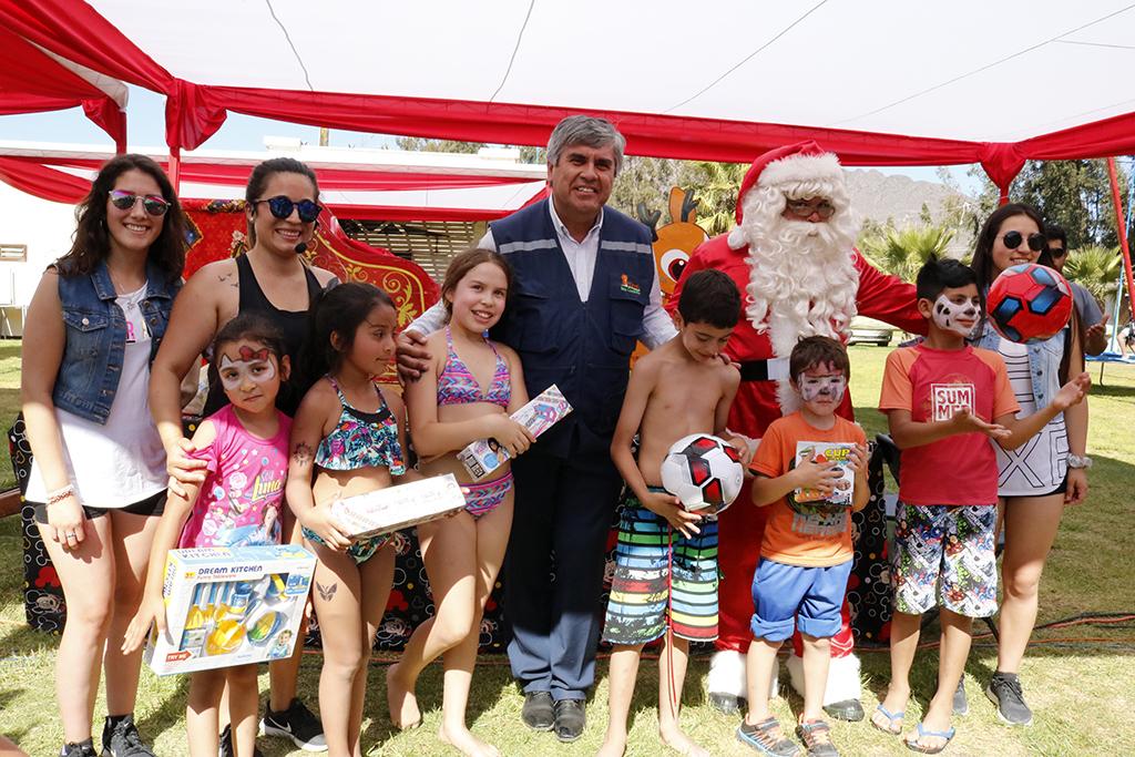 Photo of Sector poniente de la comuna de Vicuña celebró su fiesta de navidad para niños y niñas