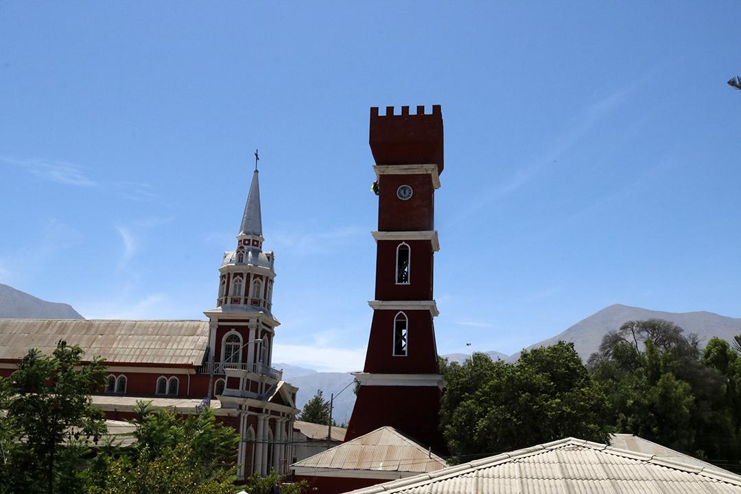 Photo of En los próximos días de enero se podrá apreciar la renovada fachada de la Torre Bauer de Vicuña
