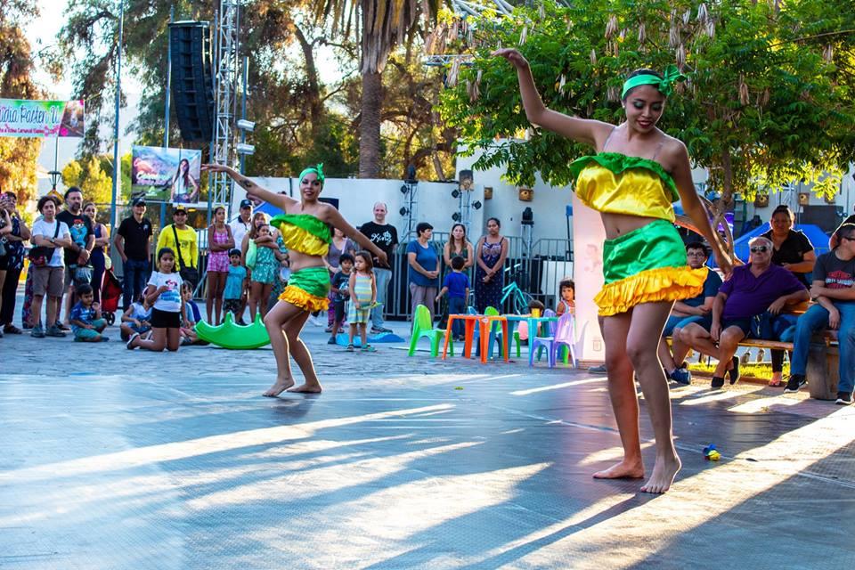 """Photo of La danza se tomó el centro de Vicuña en una nueva muestra de """"Plaza Cultural"""""""