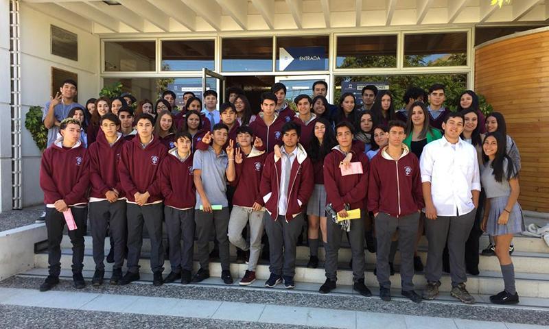 Photo of Estudiantes de enseñanza media visitaron el Juzgado de Garantía de Vicuña