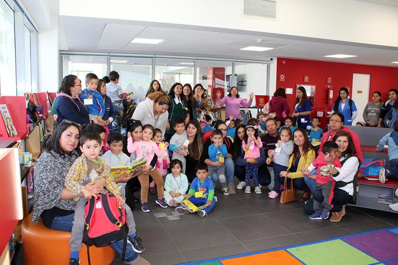 Photo of Párvulos de El Arenal celebran el Día del Libro en la Biblioteca Gabriela Mistral