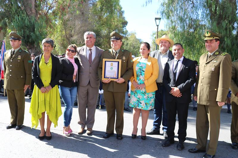 Photo of Municipio de Vicuña rindió honores a Carabineros en su aniversario N° 92
