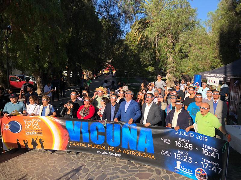 Photo of Representantes de la región de la Araucanía visitarán Vicuña para conocer la experiencia del eclipse total de sol