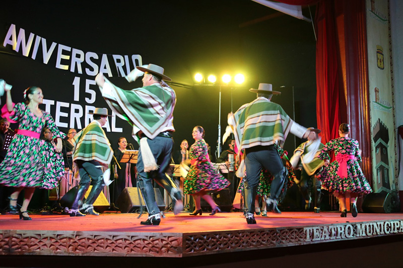 Photo of Agrupación Folclórica Terral de Vicuña conmemoró sus 15 años con brillante gala