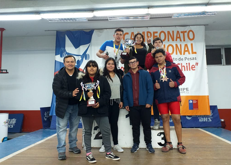Photo of Vicuñenses se consagran en Campeonato Nacional de Pesas sub 15 y sub 17