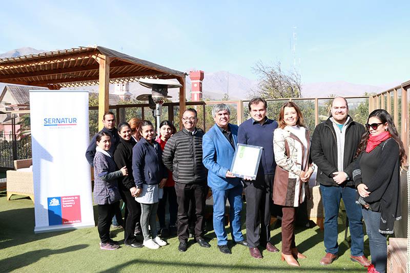Photo of Vicuña fortalece su oferta turística con renovación de Sello de Sustentabilidad en uno de sus principales alojamientos