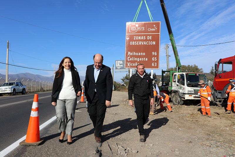 Photo of Gobierno refuerza el llamado a la planificación de rutas y traslados para el día del Eclipse Total de Sol