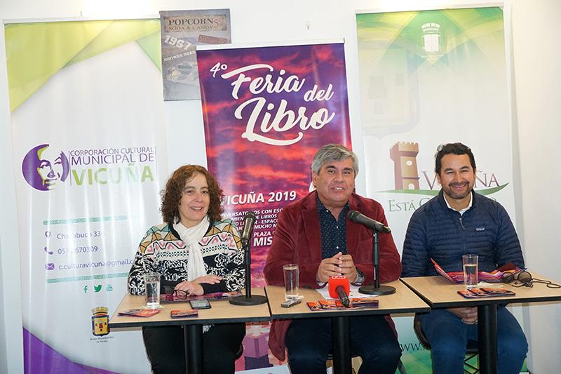 Photo of Vicuña da inicio a la 4ta Feria del Libro en estas vacaciones de invierno