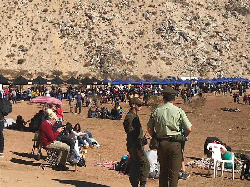 Photo of Más de 30 mil visitantes disfrutaron la magia del eclipse en Paihuano