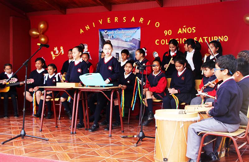 Photo of Gabriela Mistral: Colegio Saturno celebra 90 años con importantes logros académicos