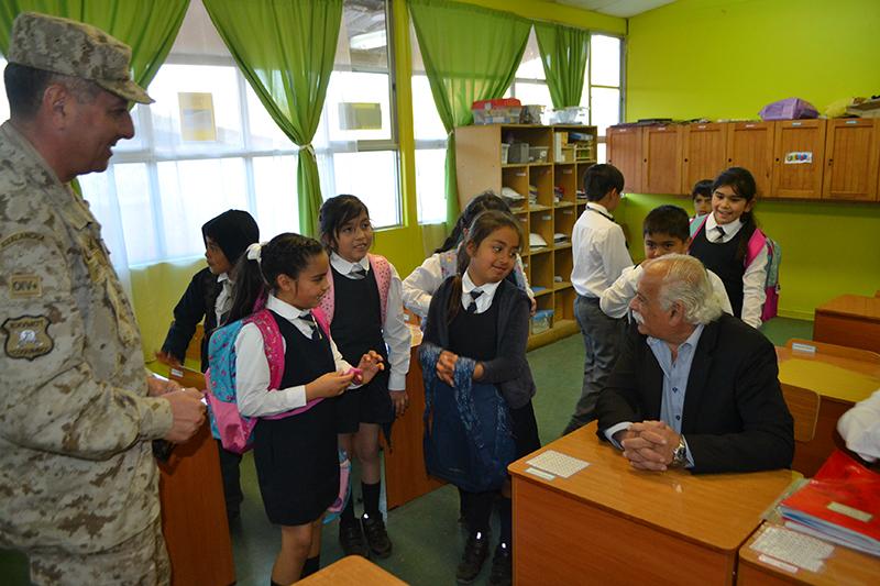 Photo of Comunidad de Colegio Quebrada de Talca agradece trabajos de mejoramiento
