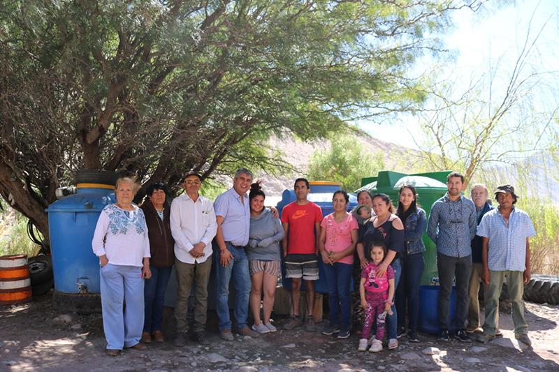 Photo of Familias del sector de Barraza en Chapilca cuentan con estanques de almacenamiento de agua potable
