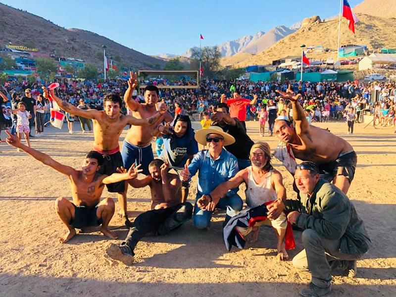 Photo of Pampilla de San Isidro se llenó de juegos populares y carreras a la chilena