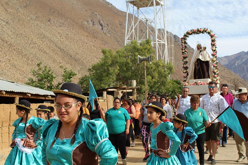 Photo of Fieles celebraron fiesta patronal de la Virgen del Carmen en comunidad católica de Alcohuaz
