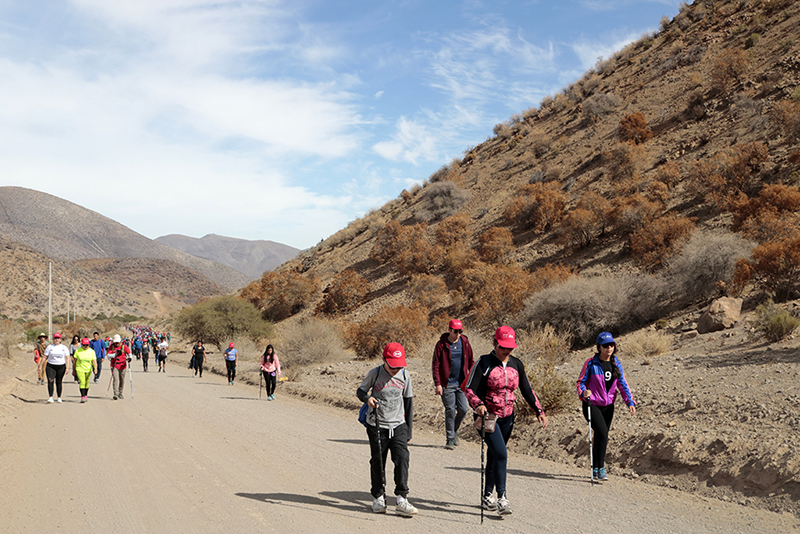 Photo of Con gran participación se desarrolló el trekking en ruta Antakari organizado por el Ministerio del Deporte