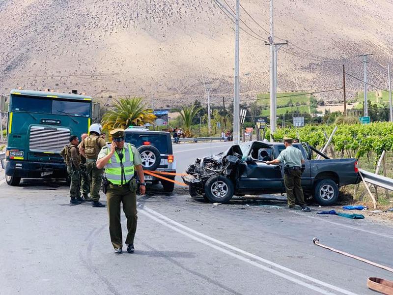 Photo of Perdida total de una camioneta y 4 heridos fue el resultado de un nuevo accidente en la ruta 41CH