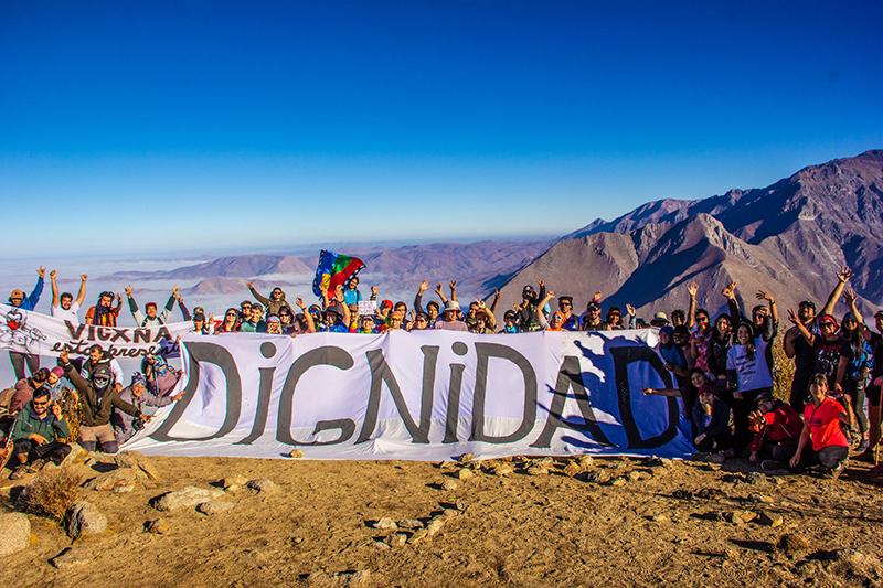 Photo of Elquinos realizan una hazaña social: El Trekking Combativo