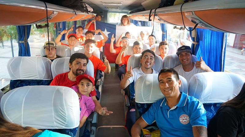 Photo of Futbolistas elquinos viajan a Mendoza, Argentina,  para disputar un torneo internacional